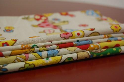 mushroom fabric from Ric Rac