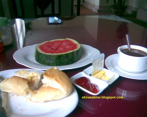 Typical breakfast ala Viet