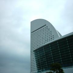 【写真】ミニデジで撮影したヨコハマ グランド インターコンチネンタルホテル