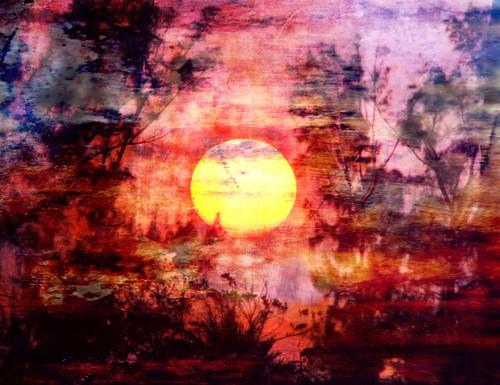 Batik Sunset