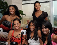 the claudia jordan show cast ... im too lazy to type out all their names ..