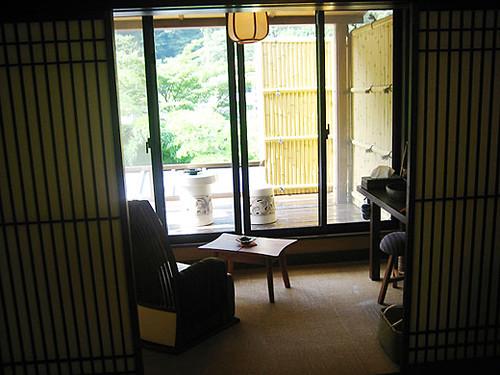 Hakone trip Japanese style hotel ryokan