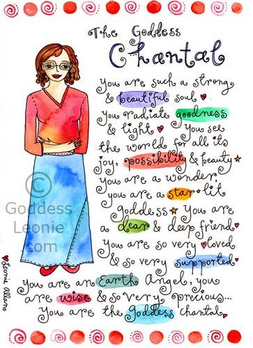 Goddess Chantal: Custom Soul Story art