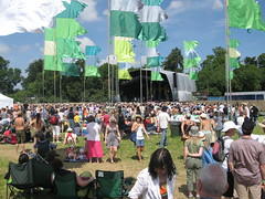 The Open Air Stage at WOMAD 2008