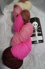 Yarn Pirate Cupcake