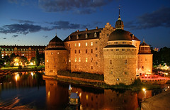 Orebro_Castle_Night