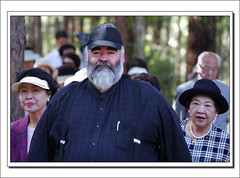 Bob Abbot-2839 (Barbara J H) Tags: gardens mayor australia qld visitors sunshinecoast tanawha barbarajh maroochyregionalbushlandbotanicgardens countdownto2009yourdiary bobabbot sunshinecoastregionalcouncilmayor maroochyregionalbushlandbotanticgarden