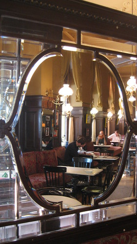 Cafe Sperl Reflections