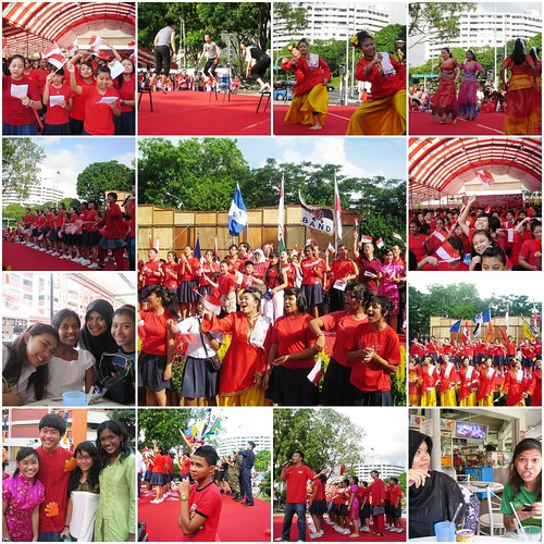 National Day Celebrations with the community