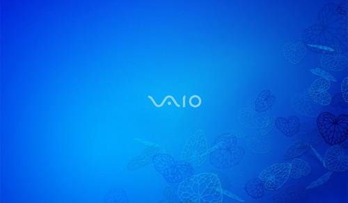 vaio wallpaper download.  VAIO Azure Float Wallpaper 1024x600