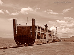another ro-ro (Angkulet) Tags: travel boats philippines albay portoftabaco