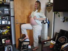 IMG_3620 (drjeeeol) Tags: jill pregnancy pregnant belly triplets 24weeks