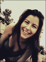 My BFF (Ekler) Tags: portrait woman girl beautiful smile explore ekler anawesomeshot oldschooldigital olympusfe280 womenexpression soloha