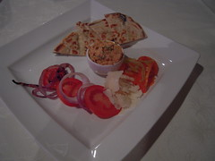 Baked Eggplant/Sundried tomato dip
