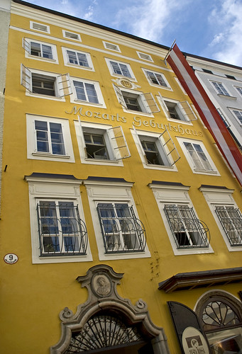 Mozart's Birthplace by Alida's Photos