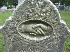 Handshake in Heaven (Richard O Jones) Tags: cemetery angel hands iconography