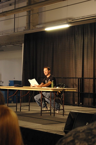 Wil Wheaton panel