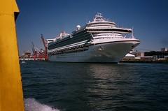 Caribbean Princess (edenpictures) Tags: brooklyn ship labordayweekend oceanliner caribbeanprincess newyorkharbor