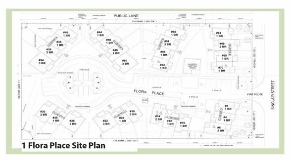 Flora Place Map