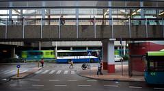 Utrecht centraal (Simon Bak) Tags: life street city people urban bus simon public station train utrecht transport busses trein centraal bak mensen crossover zebrapad bussen connexxion