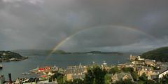 Oban,Scotland (martin97uk) Tags: uk ferry scotland boat rainbow harbour lifeboat oban folly customs caledonian macbrayne mccaigs