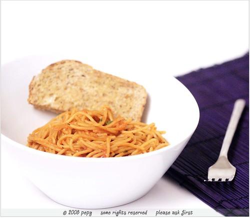 Spaghetti Arabiata 2