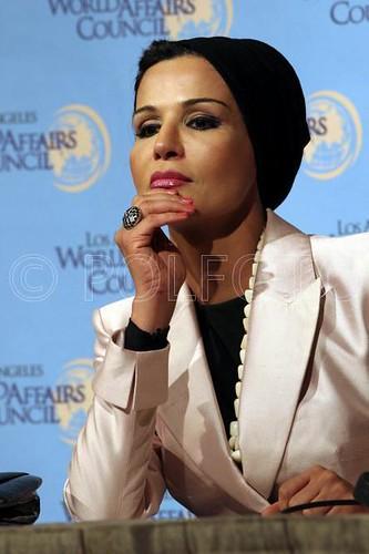 sheikha mozah bint nasser al-missned by alhamish.
