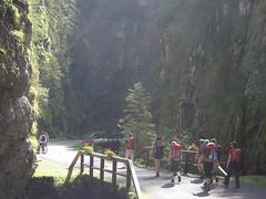 Hike through the Sottoguda Canyon