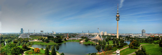 Olympic Park Munich Panorama HDR
