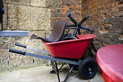 St Luke's Church - chairs & wheel barrow (neill.shenton) Tags: liverpool chairs yoko wheelbarrow biennial stlukeschurch capitalofculture abandonedfurniture liverpoolartcouk tobuyaprintetcflickrmailorcontact wwwneillshentonphotographycouk