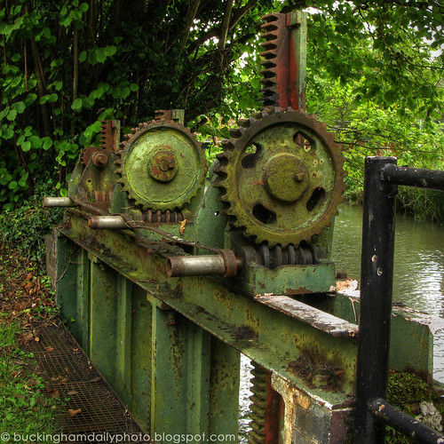 gears near the mill