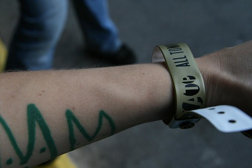 day 263, one of the ATP wristbands