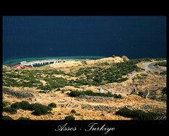 Looking Down To Assos (from the Temple of Athena) (3)