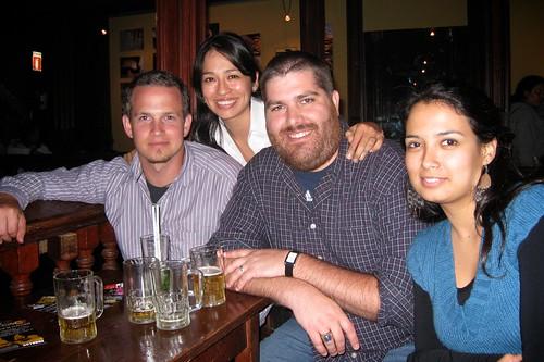 Me, Mirella, Josh, & Aritza