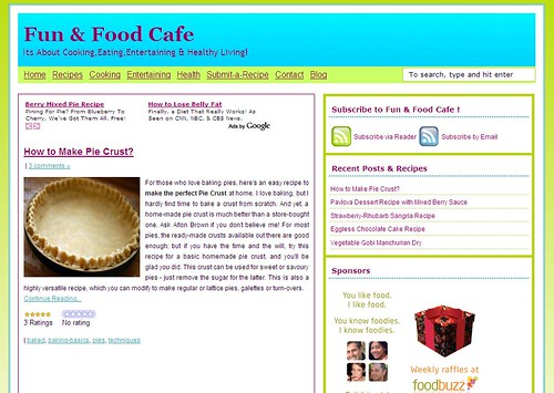 Fun and Food Cafe-Blog