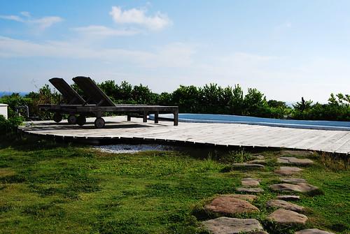 可以日光浴的小泳池(1)