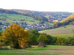 Ettersdorf, Westerwald (einfallsreich) Tags: autumn herbst natur landschaft wald baeume westerwald