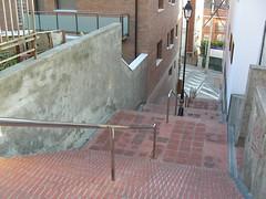 Escales Baixada de les Monges des de dalt