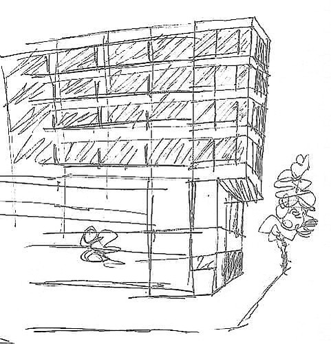 Quick Sketch - Office Building