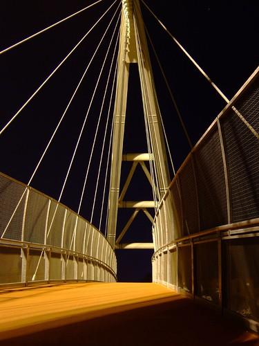 Finalmente sopra il ponte!