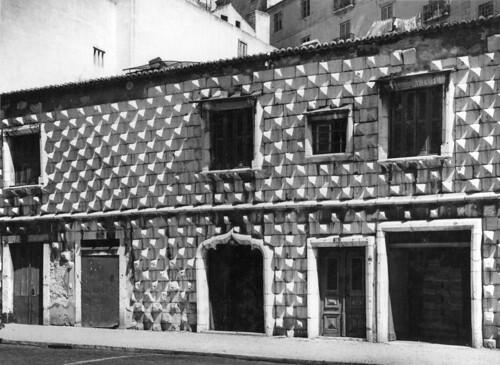 Casa dos Bicos, Lisboa (Est. de A. Novais, s.d.)