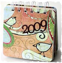 2009 Birdie Desk Calendar