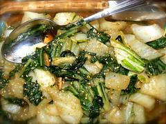 Stir-fried Pak Choy
