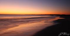 Daybreak (gwhiteway) Tags: ocean autumn canada beach nature sunrise newfoundland walking landscape 2008 bej colorphotoaward skycloudssun cans2s musgraveharbour damniwishidtakenthat