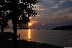 Sunset #1 (Necromundo) Tags: ocean sunset water abend meer wasser sonnenuntergang sommer urlaub himmel croatia 2008 sonne fontana kste porec istria kroatien idyl mittelmeer vrsar funtana istrien idyle