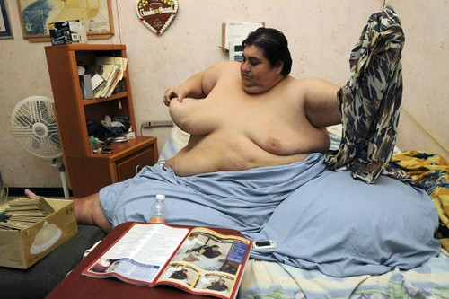 Well, maybe the marriage of the World's Heaviest Man can give you an idea