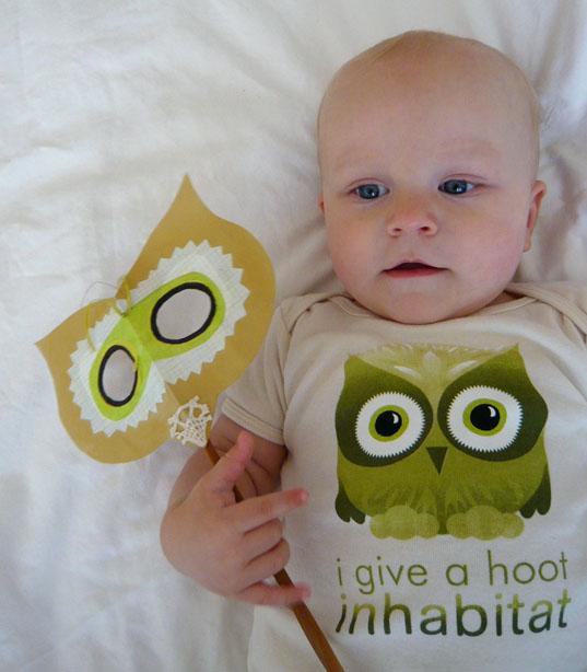 Jasper as 'Habby The Owl'