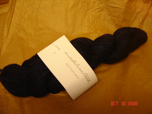 Madeline Tosh October Yarn Club