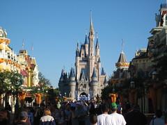 la rue vers le château!