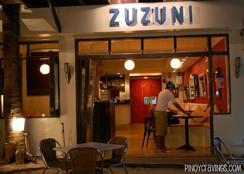 Zuzuni Restaurant Front